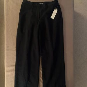 Kasper charcoal gray trousers NWT